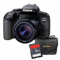 Canon 800D (Rebel T7i / Kiss X9i)+ Lens 18-55mm F4-5.6 IS STM  Free SDHC16GBC10+กระเป๋ากล้อง