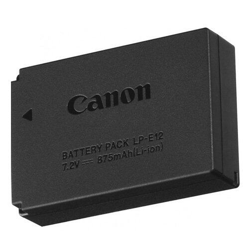Canon Battery Pack LP-E12 for EOS M10 ,EOS100D,EOS M50 ,EOS M100