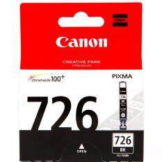 ส่วนลด Canon Cli 726 Bk Black Ink Cartridge สีดำ หมึกแท้ รับประกันศูนย์ Canon Ink And Toner Cartridge กรุงเทพมหานคร