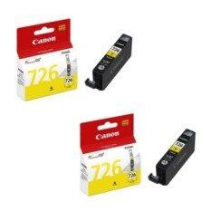ซื้อ Canon Cli 726Y Ink Cartridge Yellow 2 กล่อง ใหม่ล่าสุด