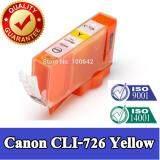 ซื้อ หมึกเทียบเท่า สีเหลือง Canon Cli 726Y Yellow สำหรับ Pixma Mg6170 Mg6270 Mg8170 Mg8270 With Chip ถูก ใน ไทย