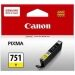 ซื้อ Canon Cli 751Y Ink Cartridge Yellow ถูก