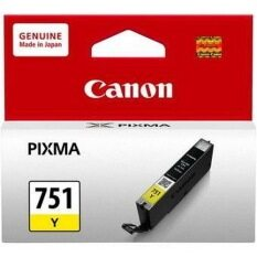 ขาย Canon Cli 751Y Ink Cartridge Yellow ออนไลน์ ใน กรุงเทพมหานคร