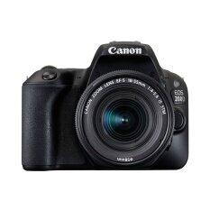 ราคา Canon กล้อง Dslr รุ่น Eos200D Kit 18 55Mm ฺblack ประกันศูนย์ Canon