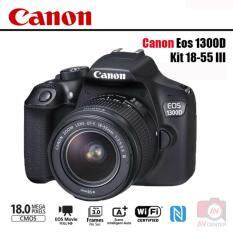 Canon EOS 1300D Kit EF-S 18-55 III(ประกันAVCENTERSHOP+SD16GB+กันรอยหน้าจอ)