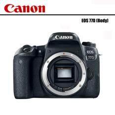 ซื้อ Canon Eos 77D Body ประกันAvcentershop Sd16Gb Cass10 ฟิมล์กันรอยหน้าจอ ใหม่ล่าสุด
