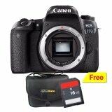 ทบทวน ที่สุด Canon Eos 77D Body ฟรี Sdhc16Gb กระเป๋ากล้อง