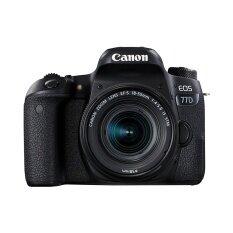 ราคา Canon กล้องดิจิตอล รุ่น Eos 77D Efs 18 55Is Stm ประกันศูนย์ สมุทรปราการ