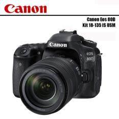 CANON EOS 80D Kit EF-S 18-135 mm F3.5-5.6 IS USM ประกันร้าน AVCENTERSHOP +SD 16GB Cass10 +กันรอยหน้าจอ
