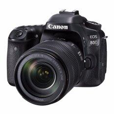 Canon EOS 80D Kit EFS 18-135 IS Nano USM (Black) (ประกันศูนย์)