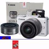 ซื้อ Canon Eos M10 Double Lens Kit 15 45 Mm 22 Mm สีขาว ประกันศูนย์ Canon