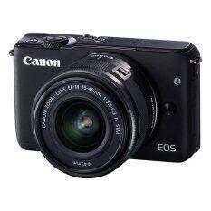 Canon EOS M10 เลนส์ EF-M15-45mm Black