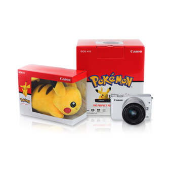 Canon EOS M10 EF-M15-45mm. IS STM (White) Pokemon Special Edition (ประกันศูนย์)