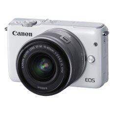 Canon EOS M10 เลนส์ EF-M15-45mm White