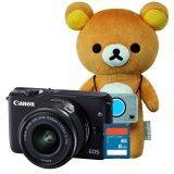 ราคา Canon Eos M10 Kit Ef M15 45Mm Black X Rilakkuma Special Edition Sd 8 Gb ประกันศูนย์ Canon เป็นต้นฉบับ