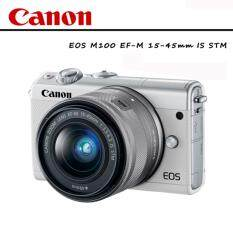 CANON EOS M100 EF-M 15-45mm IS STM (ประกันAVCNERSHOP+SD16GB Class10)
