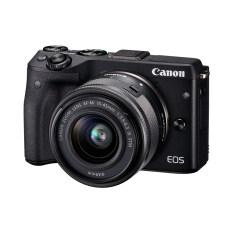 ราคา Canon กล้องดิจิตอล Eos M3 สีดำ Efm15 45 Is Stm ประกันศูนย์ เป็นต้นฉบับ