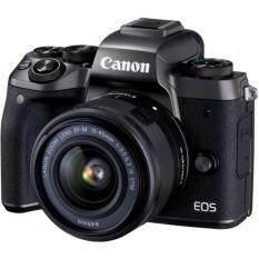 ขาย Canon Eos M5 Mirrorless Digital Camera With Ef M 15 45Mm F 3 5 6 3 Is Stm Lens ออนไลน์