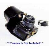 ซื้อ เคสกล้อง Canon Eos M5 Pu Leather Case For Eos M5 With 15 45Mm Lens เคสสีดำ มีสายคล้อง ออนไลน์