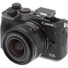 CANON EOSM6 KIT 15-45MM(ประกันร้านEC-MALL แถม16GB ฟิล์มกันรอย ชุดทำความสะอาด กระเป๋า)