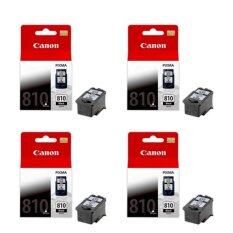 ขาย Canon หมึกพิมพ์ Inkjet รุ่น Pg 810 Bk จำนวน 4 กล่อง ราคาถูกที่สุด