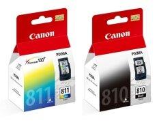 canon หมึกพิมพ์ Inkjet รุ่น PG-810/CL-811 Black/Color