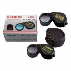 โปรโมชั่น Canon กล้องส่องพระและจิลเวอรี่ 10X 18Mm Ultrahd 4K Full Hd เลนส์ 2 ชั้น สีดำ ใน นครราชสีมา