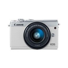 กล้องถ่ายรูป Canon Mirrorless รุ่น Eos M100 Efm15-45 Is Stm (สีขาว) By Lazada Retail General Merchandise.
