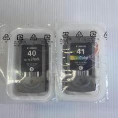 ซื้อ Canon Pg 40 Bk Cl 41 Co No Box ของแท้ ไม่มีกล่อง ถูก กรุงเทพมหานคร