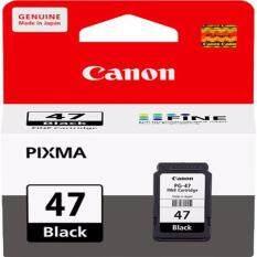 ราคา ตลับหมึกดำ Canon Pg 47Bk For Canon Pixma E400 Cannon ออนไลน์