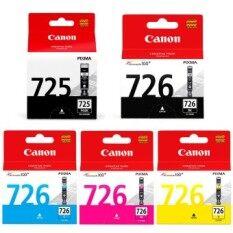 ราคา Canon Pgi 725Bk Cli 726Bk 726C 726M 726Y Ink Cartridge ออนไลน์