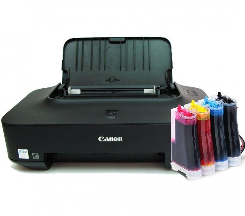 Canon PIXMA IP2770 InkJet Printer ติดตั้ง TANK