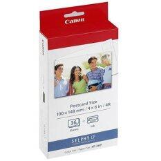 ซื้อ Canon กระดาษปริ้นท์รูป Postcrad Size รุ่น Kp 36Ip ด้านหลังกระดาษเป็นโปสการ์ดเขียนได้ หมึกพิมพ์ For Canon Selphy Cp900 Cp910 Cp1200 ออนไลน์ ถูก