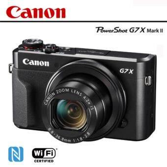 Canon PowerShot G7 X Mark II (ประกันAVCENTERSHOP)+SD16GB+กันรอยหน้าจอ