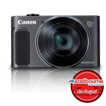 Canon Powershot SX620HS 20mp 25× (Black)+ คูปองขยายภาพขนาด12\x15\ 1ใบ(มูลค่า100บาท)