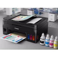 Canon ปริ้นเตอร์ Canon Pixma G4000 Printer Copy Scan Fax Wireless แทงค์แท้ แถมหมึกแท้พร้อมใช้งาน 1 ชุด ใหม่ล่าสุด