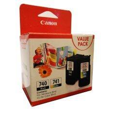 โปรโมชั่น Canon ตลับหมึก Inkjet 740 Black และ 741 Color Mg Mx Series ใน กรุงเทพมหานคร