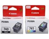 ทบทวน Canonหมึกพิมพ์inkjetรุ่นPg 740 Cl 741 Black Color Canon