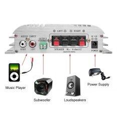 ราคา Buy 1 Get 1 Free Gift เครื่องขยายเสียงรถยนต์ 12 โวลต์ 2 Super Bass Hi Fi 2 1 ช่องสเตอริโอมินิ Amp ที่สุด
