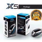 ราคา Car Bluetooth Tesia X5 Wireless Bluetooth Car Kit Handsfree Speaker With Car Charger Fm เครื่องเล่นเพลง บลูทูธติดรถยนต์ อุปกรณ์เขื่อมต่อมือถือกับรถยนต์ ถูก