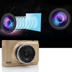 โปรโมชั่น Car Cameras Hd Car Dvr Car Camera Video Recorder Dash Cam Camcorder Gold