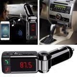 ราคา Car Charger Bluetooth เครื่องส่งสัญญาณไร้สายบลูทูธรถยนต์ Bt Bc06 ใหม่