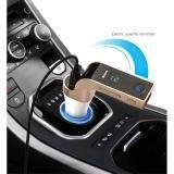 Car G7 ฟังเพลงผ่านบลูทูธในรถยนต์ ตัวรับสัญญาณบลูทูธ เล่น ฟังเพลง รองรับการใช้งานทั้งแฮนด์ฟรี เสียงสเตอริโอ Fm Transmitter Mp3 Music Player Sd Usb Charger For Smart Phone Tablet ใน กรุงเทพมหานคร