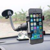ขาย ที่วางโทรศัพท์ในรถ ติดกระจกรถ ขาตั้งที่วางโทรศัพท์มือถือในรถยนต์ Car Universal Holder สีดำ Unbranded Generic เป็นต้นฉบับ