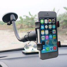 ซื้อ ที่วางโทรศัพท์ในรถ ติดกระจกรถ ขาตั้งที่วางโทรศัพท์มือถือในรถยนต์ Car Universal Holder สีดำ ถูก