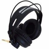 Carlsbro หูฟัง Headphone แบบครอบหู ขนาดใหญ่ รุ่น Dcn8 สีดำ ใน ไทย