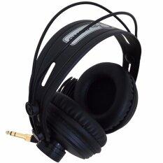 ขาย ซื้อ Carlsbro หูฟัง Headphone แบบครอบหู ขนาดใหญ่ รุ่น Dcn8 สีดำ ใน ไทย