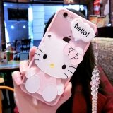 ส่วนลด Cartoon Cute Mirror Case For Oppo A57 Intl จีน