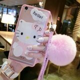ซื้อ Cartoon Makeup Mirror Phone Case For Oppo R9 F1 Plus(Pink Kt Pom Pom) Intl Unbranded Generic ออนไลน์