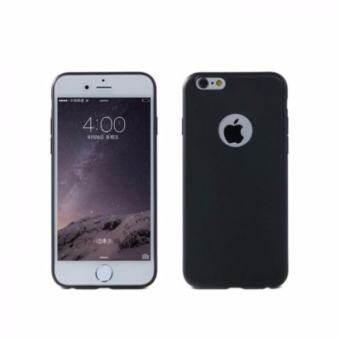 Case เคส ไอโฟน6 Iphone6 เคสนิ่ม TPU เคสโทรศัพท์ไอโฟน เคสมือถือ เคสซิลิโคนกันกระแทก (สีดำ)-